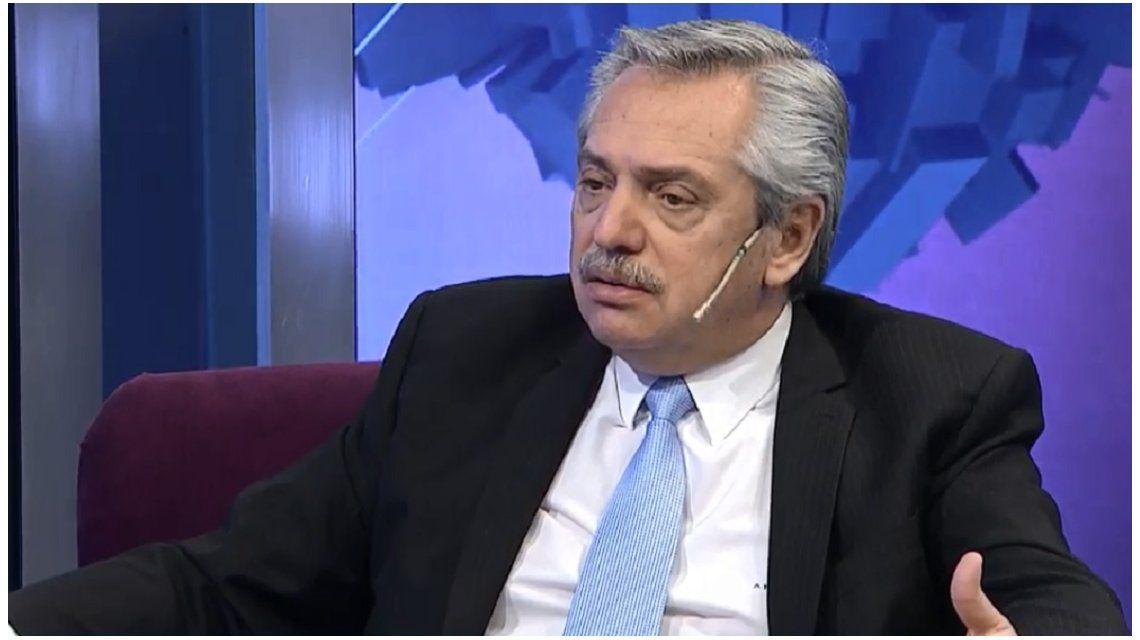 Alberto Fernánde en C5N