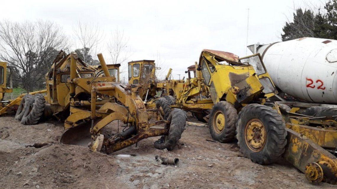 Denuncian que el intendente de Las Flores mandó a destruir maquinaria muncipal: apuntan a un concejal de Cambiemos