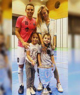La magia intacta: Saviola metió 5 goles y se coronó campeón en el futsal de Andorra