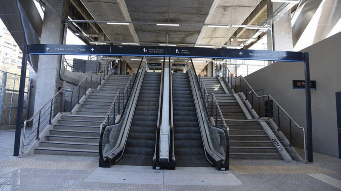 Los trenes del ramal Mitre volverán a detenerse en la estación Lisandro de la Torre