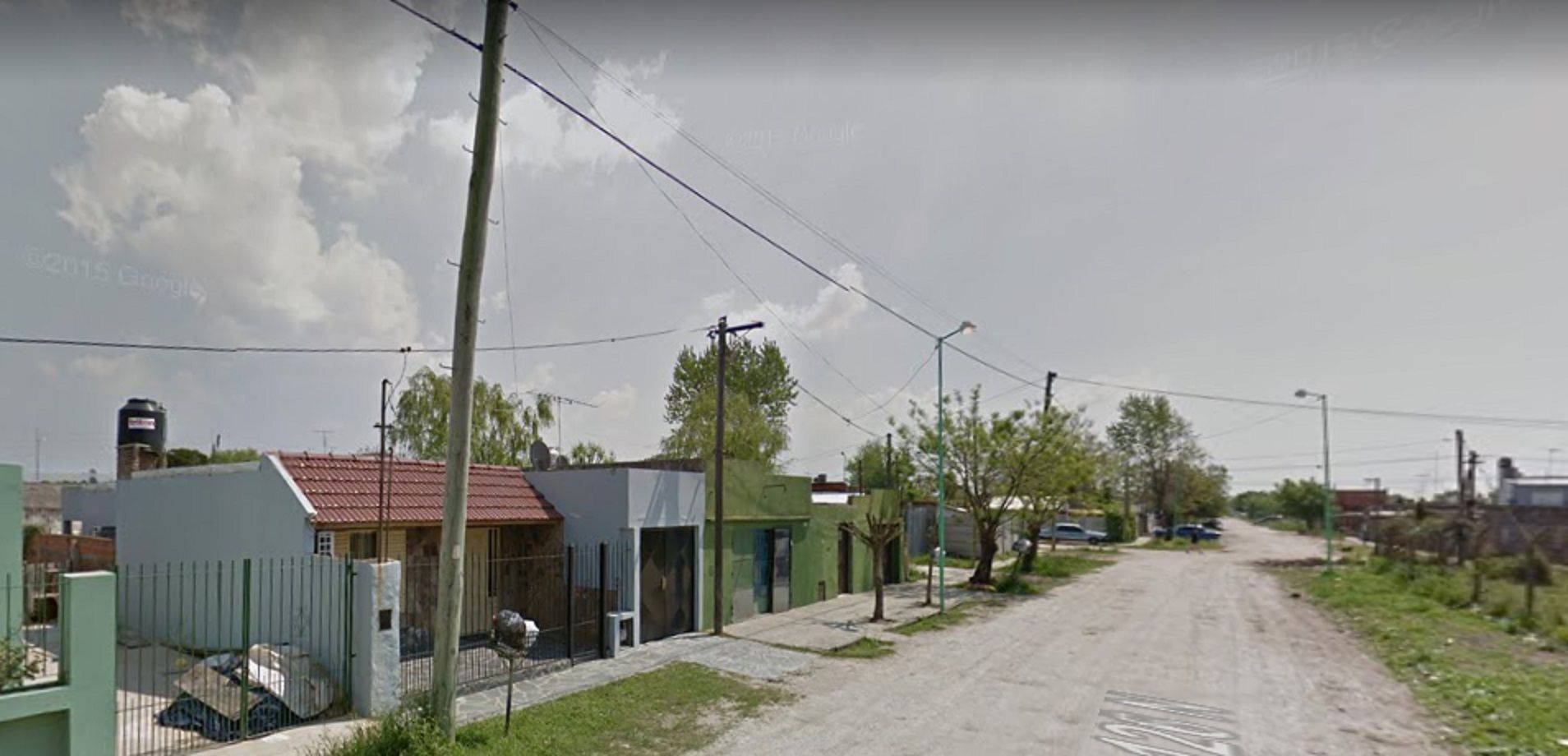 La zona en donde ocurrió el violento asalto