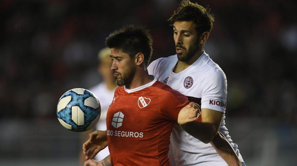 Escándalo en el vestuario de Independiente: Pablo Pérez explotó y Beccacece lo borró