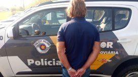 Maguila Puccio fue arrestado cuando viajaba a San Pablo