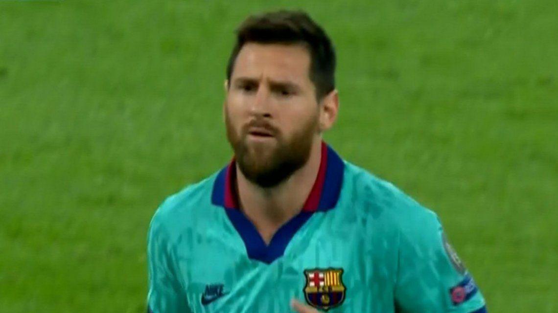 Champions League: con el regreso de Messi, Barcelona empató con Dortmund en Alemania