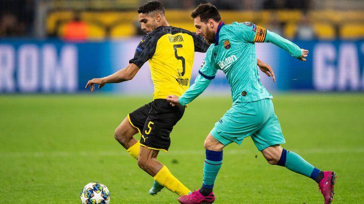 Con el regreso de Messi, Barcelona empató con Dortmund en Alemania