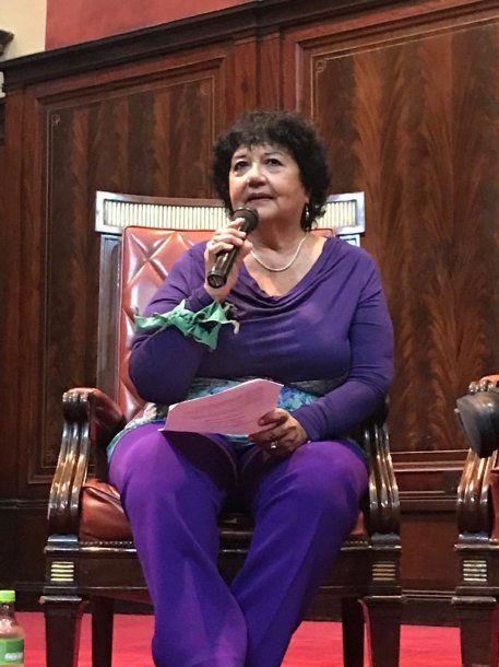 Dora Barrancos candidata a Senadora Nacional por el Frente de Todos