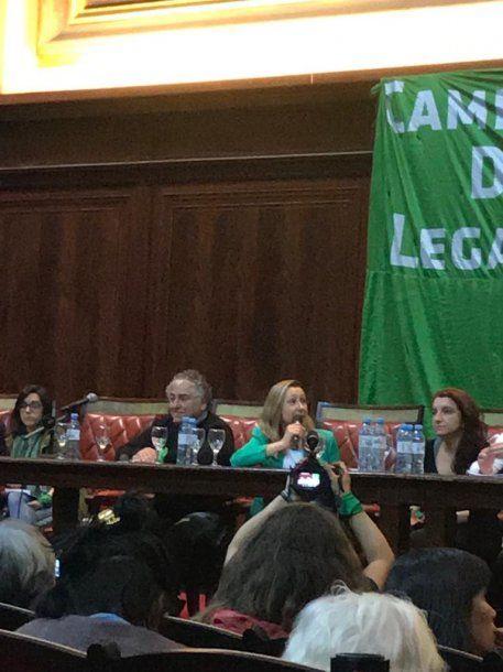 Myriam Bregman, candidata a diputada nacional en CABA por el Frente de Izquierda y los Trabajadores-Unidad