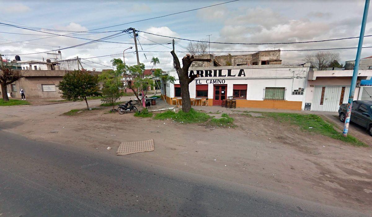 La esquina del Camino General Belgrano y calle 827 en Quilmes