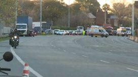 Un camión quedó atravesado en avenida Lugones y provocó complicaciones en el tránsito