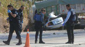 Accidente fatal en ruta 40. Foto: Los Andes