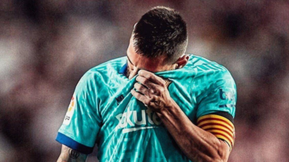 Sorpresa: con Messi, Barcelona cayó frente al inesperado líder Granada
