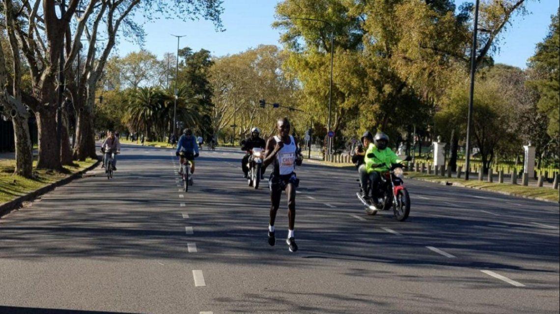 El keniata Evans Kiplagat Chebet ganó la maratón de Buenos Aires