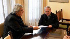 Sergio Romero, Unión Docentes Argentinos, y Monseñor Oscar Ojea
