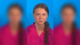 Greta Thunberg, de 17 años, le cantó las 40 a los representantes en la ONU