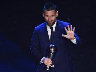 lionel messi gano el premio the best y se consagro por sexta vez como mejor jugador del mundo