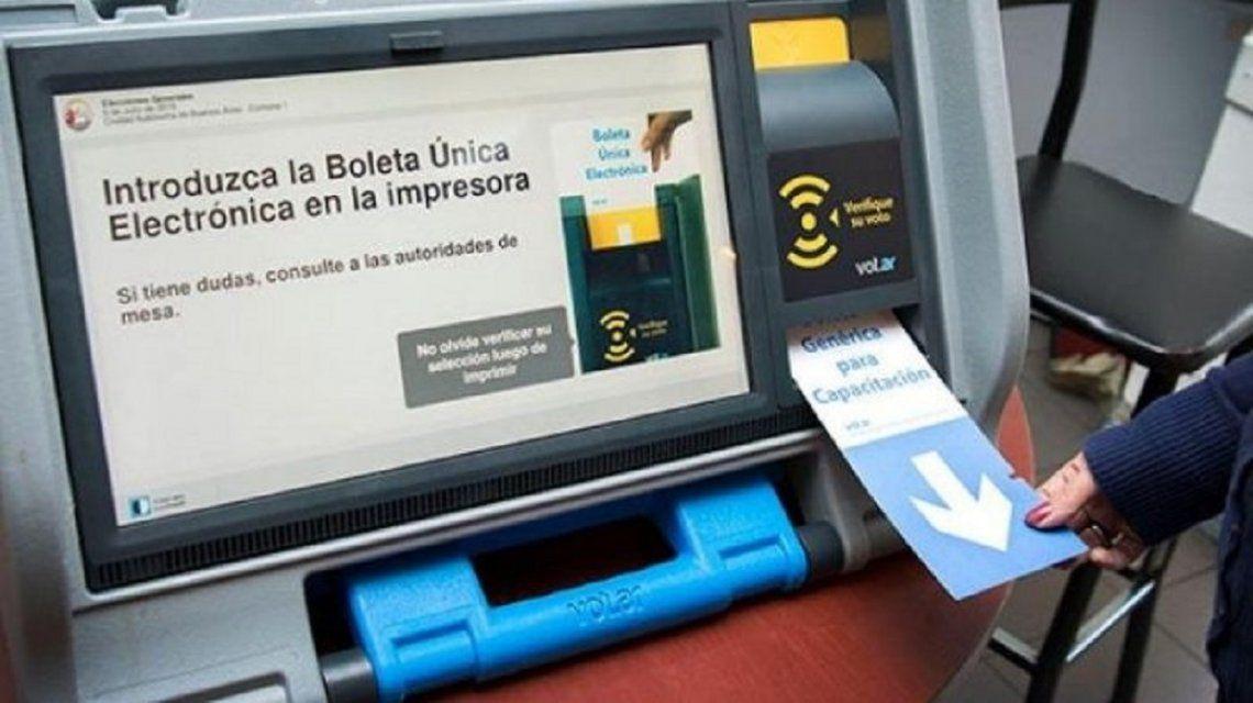 Suspenden el voto electrónico en siete municipios de Chaco por falta de fondos