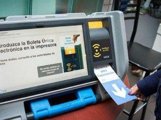 suspenden el voto electronico en siete municipios de chaco por falta de fondos