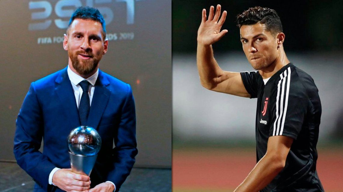 Messi votó a CR7 para The Best, pero el portugués no eligió al argentino