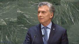 Macri en la ONU llamó a reanudar las negociaciones por Malvinas
