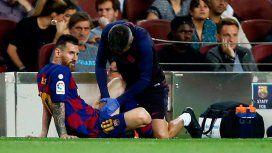 La frase de Messi tras sentir una molestia en pleno partido: No me puedo romper