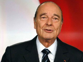 Jacques Chirac, ex presidente de Francia