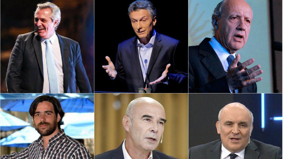 Debate presidencial 2019: los candidatos pidieron que los moderadores no hagan preguntas