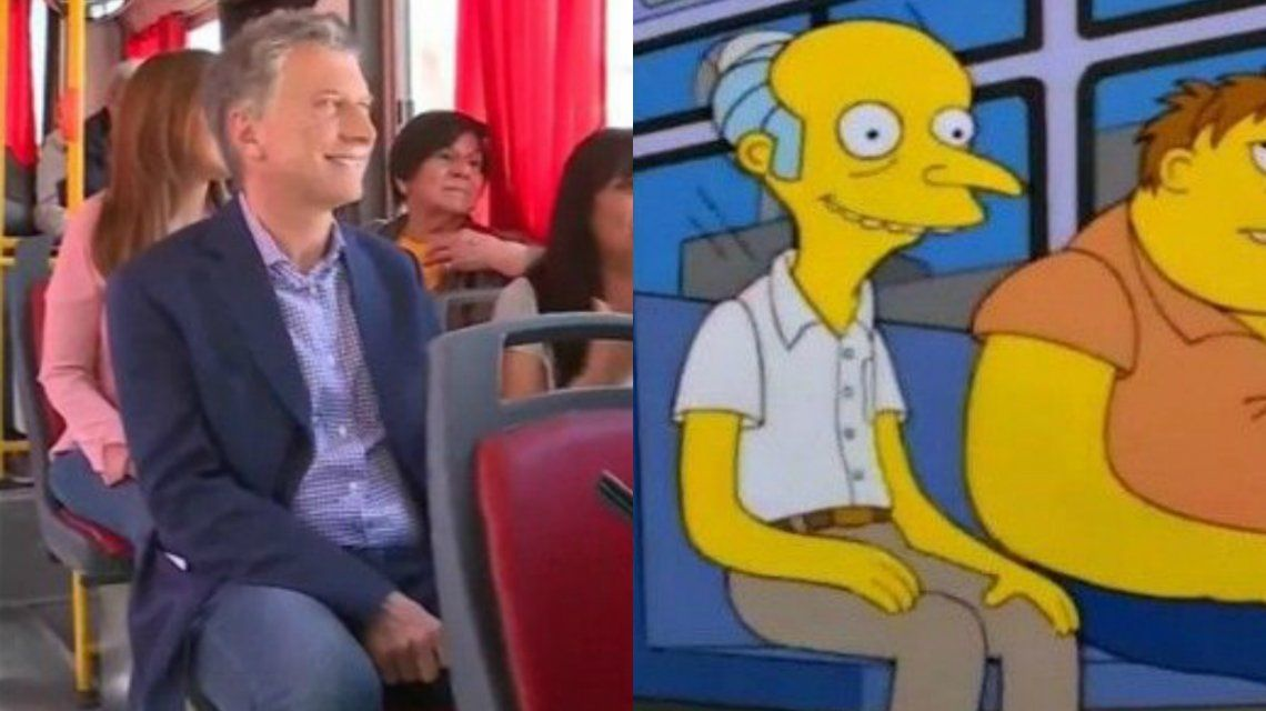 Macri como el Sr. Burns: el desopilante hilo de Twitter que compara al presidente con un personaje de Los Simpsons