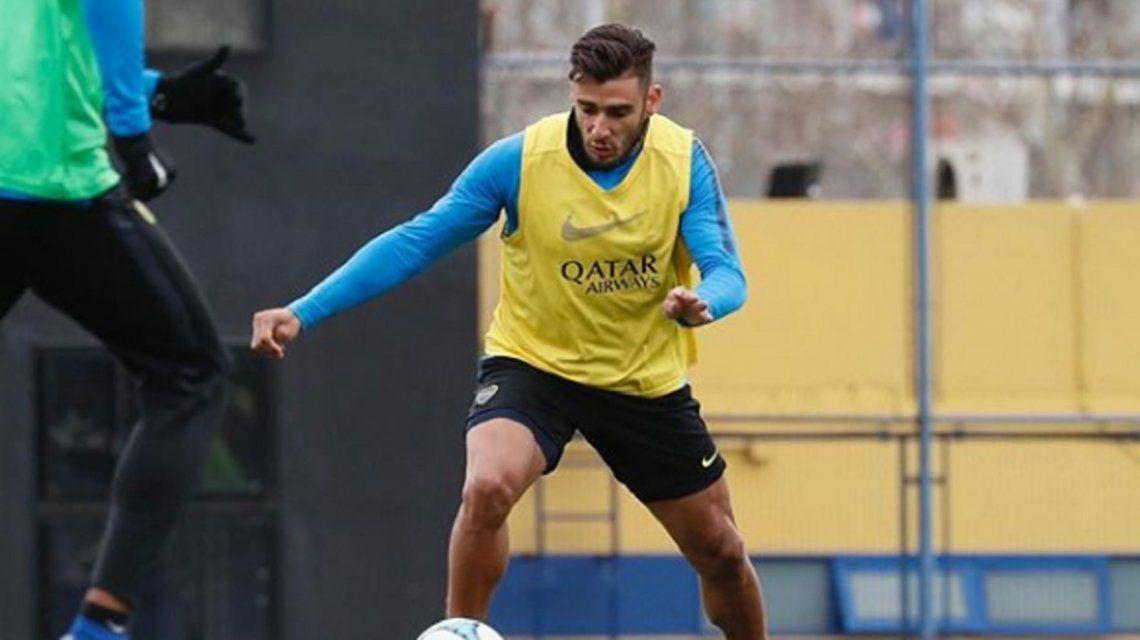 Salvio trotó y su estado físico preocupa a todos en Boca: ¿llega al Superclásico?
