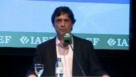 Lacunza aseguró que la plata del FMI se utilizó para pagar las deudas