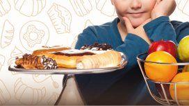 El 40% de los chicos en Argentina tiene exceso de peso