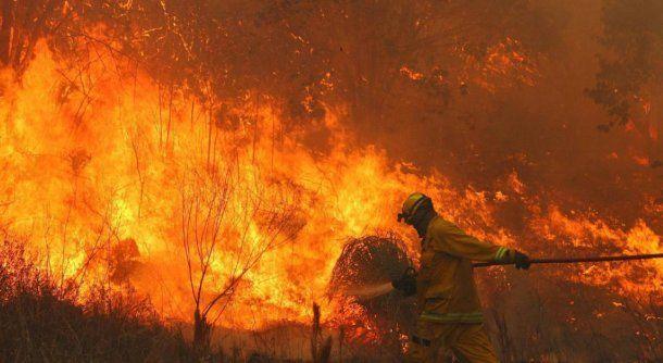 Incendios en Córdoba: Foto: La Voz