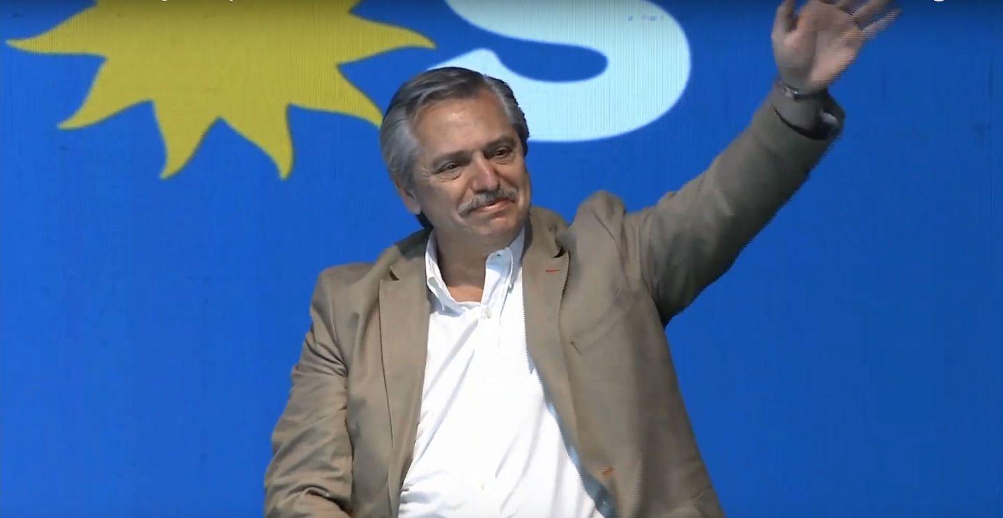 Alberto Fernández: Cuatro años después descubren que la gente necesita trabajo o que padece la inflación