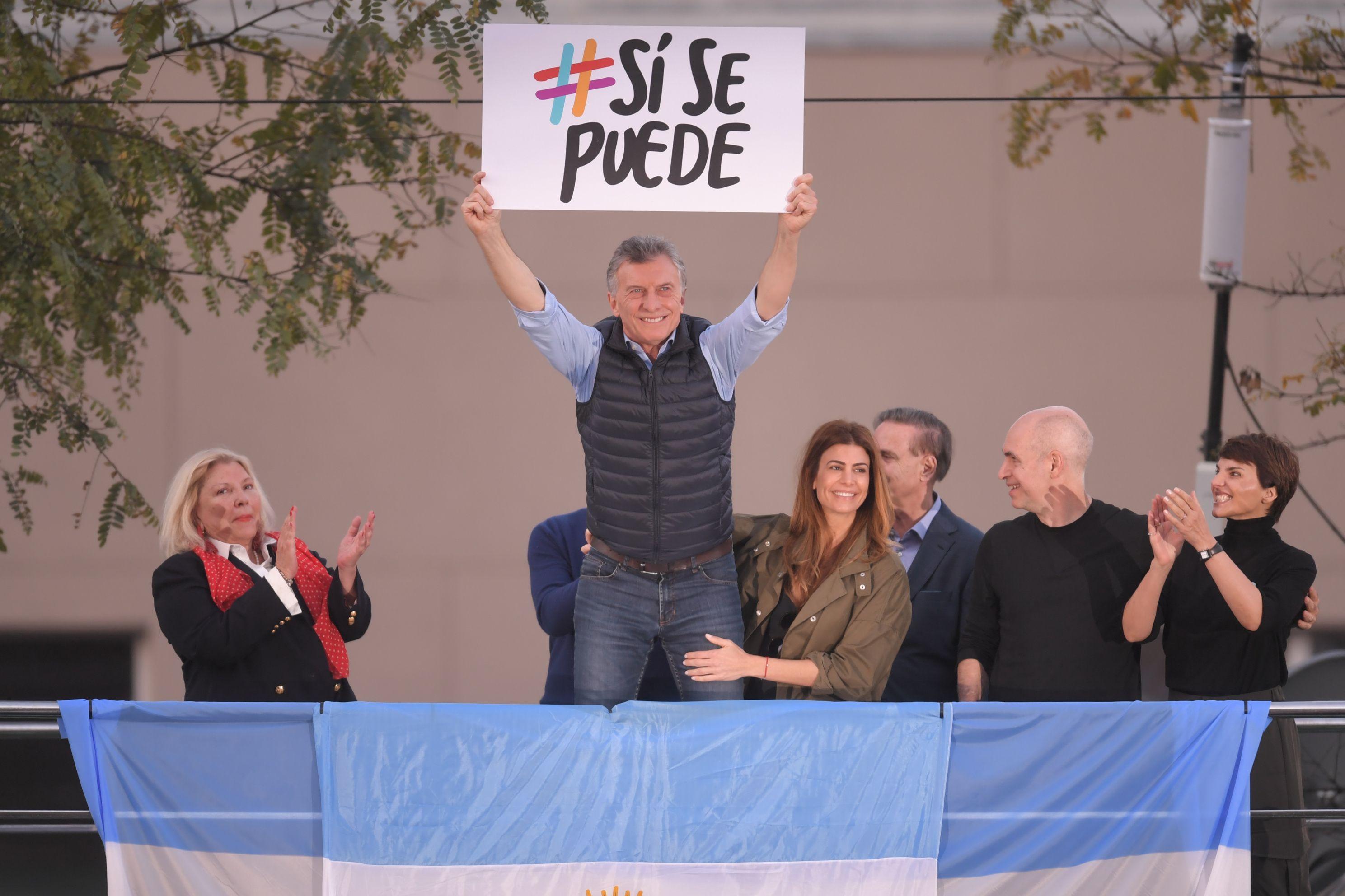 Buenos Aires, Córdoba y Santa Fe, los próximos destinos de Macri en las marchas del Sí se puede