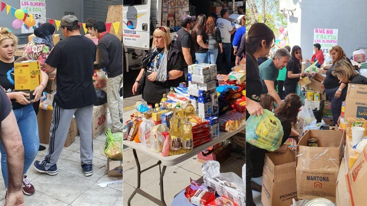C5N reunió 30 mil kilos de alimentos para comedores comunitarios