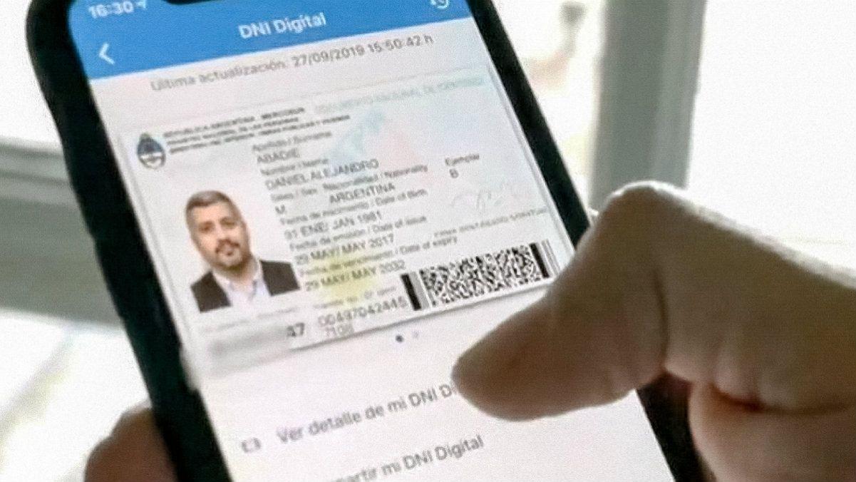 Lanzaron el DNI digital que se puede usar desde el celular