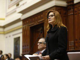 peru: renuncio la presidenta interina mercedez araoz