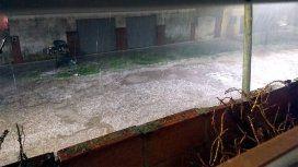 Así fue el granizo que azotó a varios barrios en la Ciudad y el Conurbano