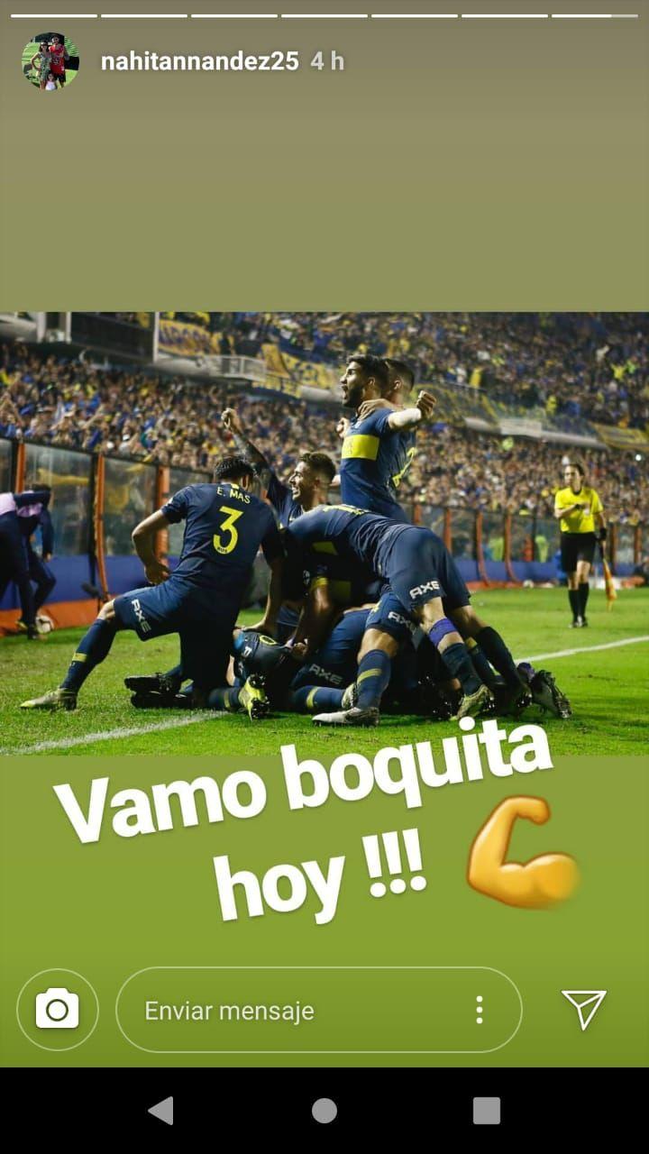 El mensaje de Nahitan Nández antes de la primera semifinal entre River y Boca