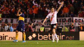 Centro atrás y sólo empujarla: Nacho Fernández marcó el segundo de River