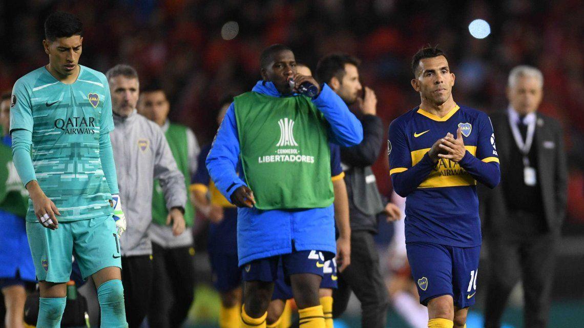 El polémico gesto de Tevez y las críticas de Wanchope al VAR tras la derrota de Boca ante River