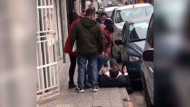 Así fue la agresión al intendente de Paraná en plena calle