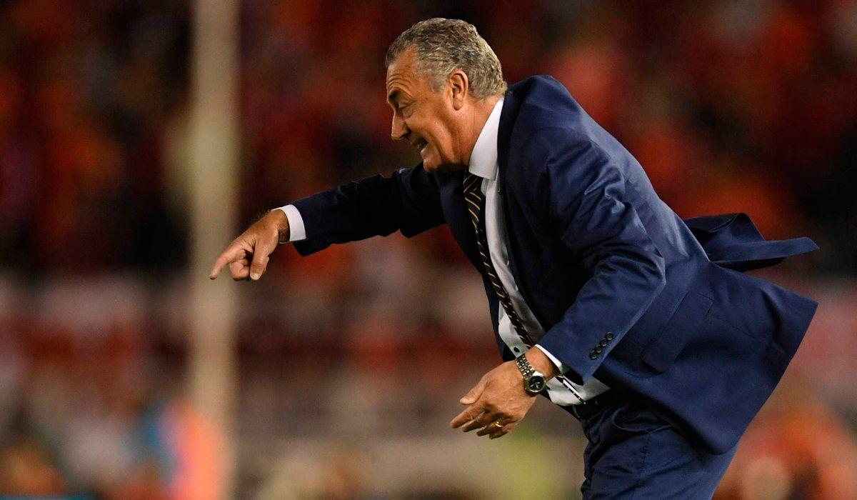 La polémica frase de Alfaro sobre los jugadores de River tras la derrota de Boca