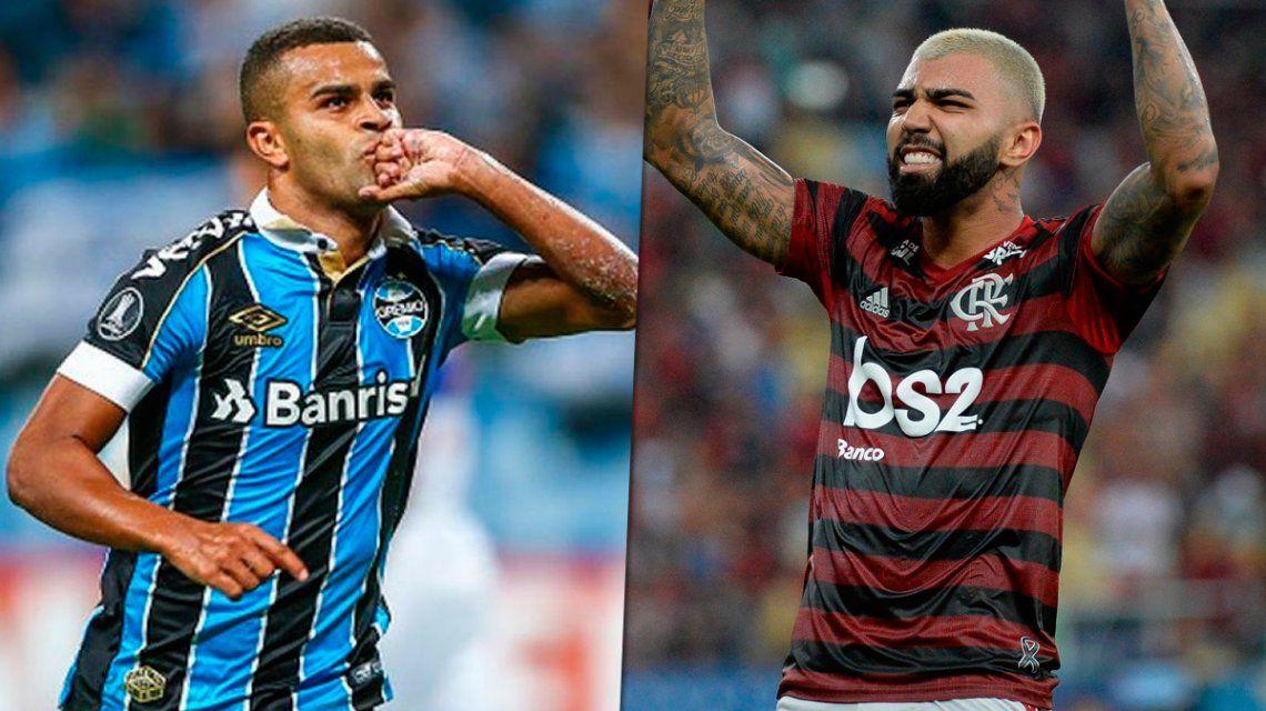 Gremio vs. Flamengo, la otra semifinal de la Copa Libertadores: horario, formaciones y TV