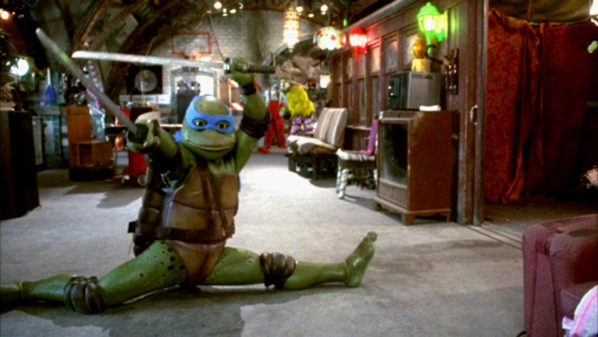 ¿Algún fanático de las Tortugas Ninja en la sala?
