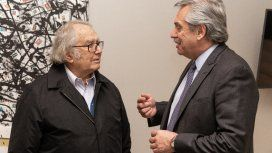 Alberto Fernández definió a Pérez Esquivel como un ejemplo mundial de conducta