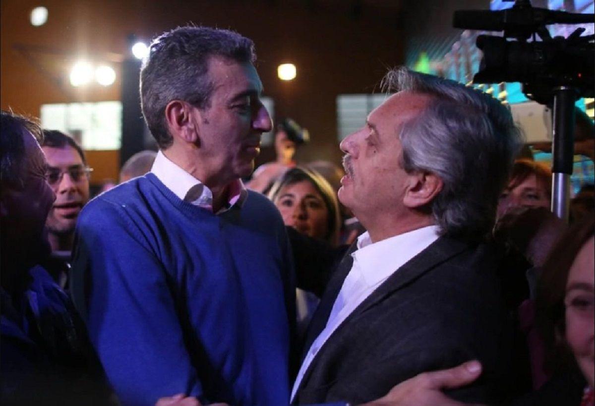Florencio Randazzo y Alberto Fernández