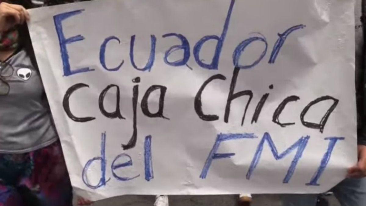 El FMI elogió las políticas económicas del gobierno de Ecuador justo antes del estallido