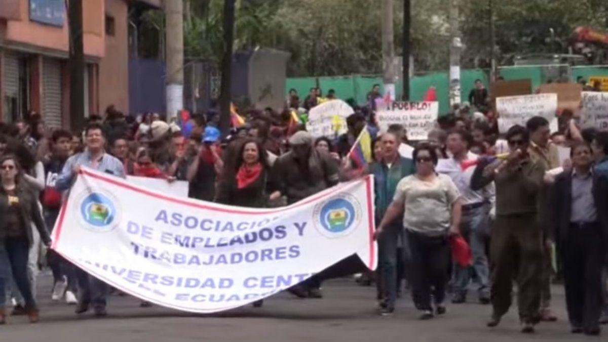Ecuador: Lenín Moreno decretó el estado de excepción en medio de una ola de protestas