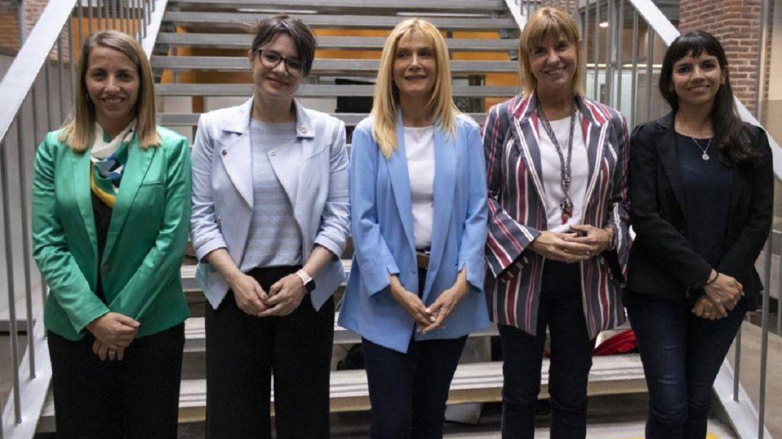 Magario, Rodenas y Marziotta encabezaron la cumbre de las mujeres vices del Frente de Todos