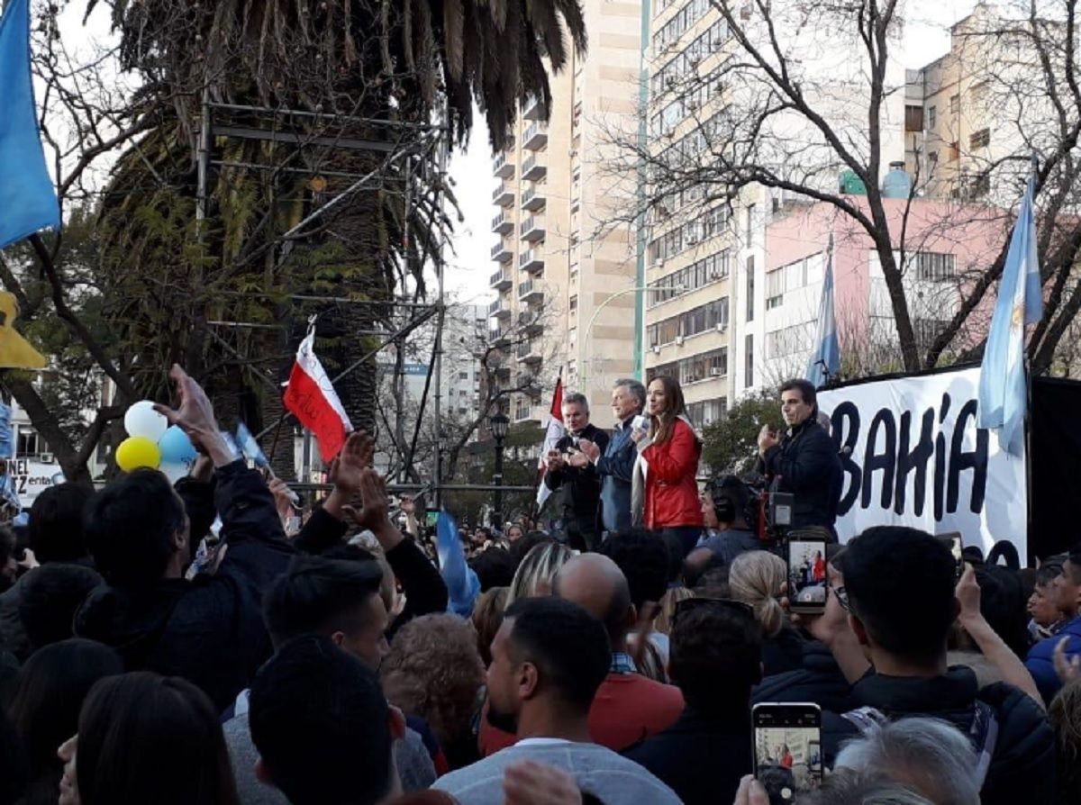 La realidad de las marchas macristas: en Bahía Blanca fue poca gente